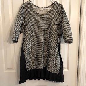 Clu + Willoughby size XL  black / white  dress